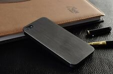 iPhone 4 4s 5 5S Case Ultra-thin Airdraft Aluminum 0.3mm Metal Brushed BackShell