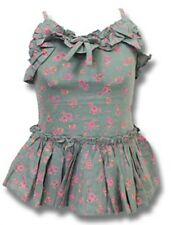 Girls Next Khaki Floral Camisole Top (Ages 3, 4, 5, 6, 7, 8, 9, 10, 11 & 12 Yrs)