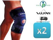 Vulkan STABILISING x2 Knee Patella Support Brace Neoprene Ligament ACL MCL LCL