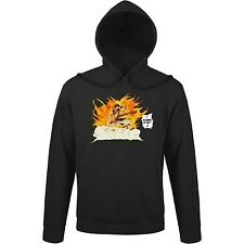 Sweat-Shirt à capuche Manga - Parodie Fairy Tail - Allumer le Feu !! - Sweat-Sh