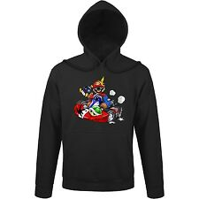 Sweat-Shirt à capuche Jeux Vidéo - Mario Kart - Kart Fighter - Player 1 - Sweat
