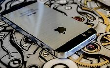METAL EFFECT NEW VINYL DECAL WRAP STICKER SKIN COVER for iPHONE 4 4S 5 5S