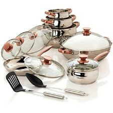 Command Performance 14 Piece Stainless Steel Cookware Set 118793 TM7
