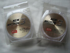 Asso New Micron 3 High Tech Pole Line 100m Spool Match Fishing