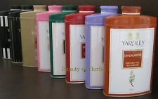 Yardley London Perfumed Talcum Powder 250 g Choose from 6 Variety. Fast shipping