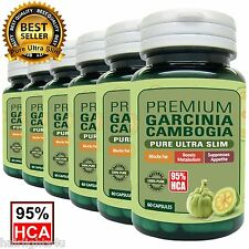 100% Pure Garcinia Cambogia Extract 85% HCA MAX Weight Loss Fat Burner Diet Pill