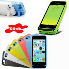 4200mah Power battery Backup case for iphone 5 5C 5S