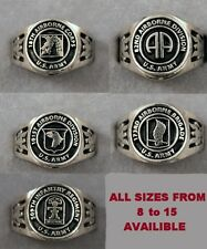 Army Airborne Unit Ring Choice of 18th 82nd 101st 173rd 509th 82d  Sizes 8 to 15