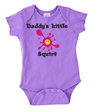 Daddy's Little Squirt Baby One Piece Fun Baby Shower Gift 06-18 mo