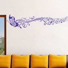 DIY Home Decor Wall Stickers Butterfly Note PVC Vinyl Removable Decal New Hot