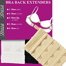 Ladies/Womens Braza Bra Back Extender 4 Hook 5002 Nude