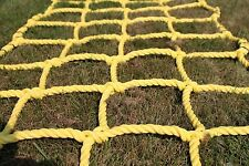 """Climbing Net Cargo Net made from 3/4"""" Heavy duty Poly Rope. choose your size"""