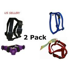 """Pet Select Dog Harness 10-14 """" Adjustable for Toy Breed Small Puppy- TWO PACK"""