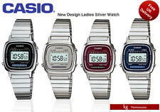 Casio Original Classic Ladies Digital Watch In Retro Silver