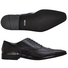 Marks & Spencer Leather Pointed Toe Brogue Smart Formal Shoes
