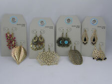 Your Choice Style Target Brand 2 Sets Earrings Various Shades Of Gold Plated NWT