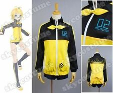 Vocaloid Hatsune Miku Project DIVA F RIN Cosplay Costume US Size S-XL