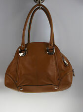B. Makowsky Candice Glove Leather Zip Top Satchel PICK COLOR