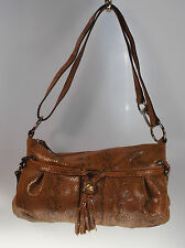B. Makowsky Leather East/West Convertible Crossbody Bag PICK COLOR