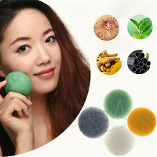 Hot Konjac Konnyaku Jelly Fiber Makeup Cleansing Wash Pad Sponge Puff Exfoliator