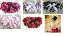 NEW Baby Bloomers Diaper Cover Satin Polka Dot Photo Op fits Newborn - 18 Month