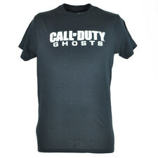 Call of Duty Ghosts Logo Premium Action Video Game Black Tshirt Mens Tee