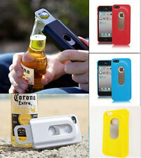 New Slide out Beer Bottle Opener Hard Back Case Cover For Apple iPhone 4S 5S