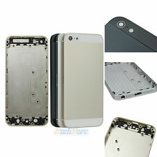 New Metal Back Battery Housing Cover Hard Case Replacement for iPhone 5G 3 Color