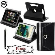 """Universal 360°Rotate Leather Stand Case Cover For Android Tablet 7.0""""8.0""""10 Inch"""
