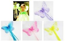 HUGE Butterfly Wand Birthday Party Favors Dress Up Pink Turquoise Lavender Green