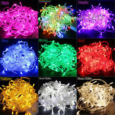 10M 100 LED Bulbs Christmas Fairy Party Deco String Lights Decoration Waterproof