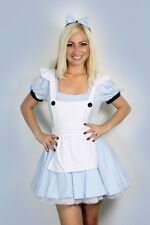 Fancy Dress Costume Sexy Halloween Womens Alice In Wonderland Outfit S M L
