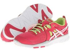 Womens Asics Gel Sustain Tr 2 Training Shoe Pink White Various Sizes