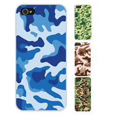 K5Y Camouflage Retro Military Stripe Hard Back Case Cover For Apple iPhone 4S 4