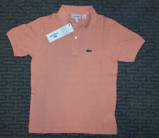 Authentic Lacoste Boys Short Sleeve Polo Shirts - Brand New with Tags