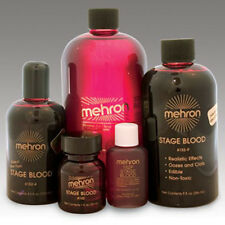 Mehron Stage Blood TV Movie Special Effects Fake Blood Halloween Makeup