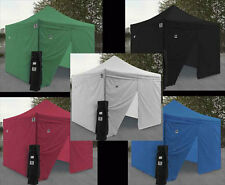 NEW Impact EZ Pop Up Canopy 10 x 10 Commercial Fair Vending Tent Shelter 4 Walls