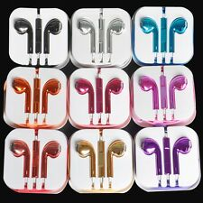 Earphone Headset With Remote for iPhone 5 4S 4G 3G 3GS i Pod Touch Nano Video