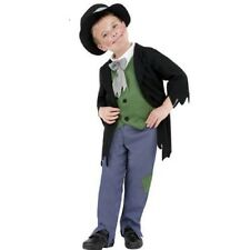 Boys Dodgy Victorian Childs School fancy dress costume Kids Outfit 4,5,6,7,8,9,