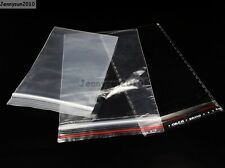 Ziplock & Self Adhesive Reclosable Clear Plastic Bags For Beads Jewelry Storage