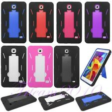 For Samsung Galaxy Tab 3/4/Pro/S Tablet Defender Armor with Kickstand Case Cover
