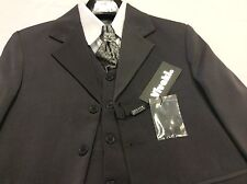 Boys 5 piece suit - Jacket, Pants, Waistcoat, Shirt and Tie (Age 2-14 years)