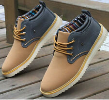 2014 New Fashion Men High-top Boots Suede casual Sneakers Ankle Boot Shoes PC111