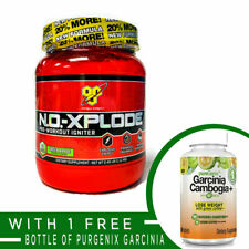 BSN N.O.XPLODE NEW FORMULA 60 Servings Pre-Workout Igniter Energy Pump Endurance