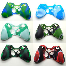 Hotsale Replacement Camouflage Silicone Skin Cover Case for Xbox360 Controller