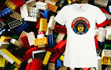 Lego Everything Is Awesome Womens Girl Top T Shirt Tee Funny Fancy Dress XS 2XL