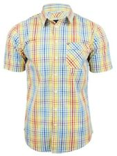Mens Shirt by Bench 'Kippax B' Holla Check Short Sleeved