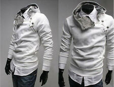 Men's Casual Top Designed Fashion Slim Fit Sexy Hoodies Jackets Coat Outwear