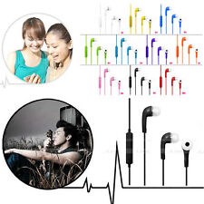In-Ear Earphone Earbuds Headset Mic Volume Control for Samsung Galaxy S2 S4