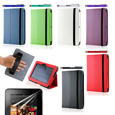 """Folio PU Leather Case Smart Cover Stand for Amazon Kindle Fire HD 7"""" Protector"""